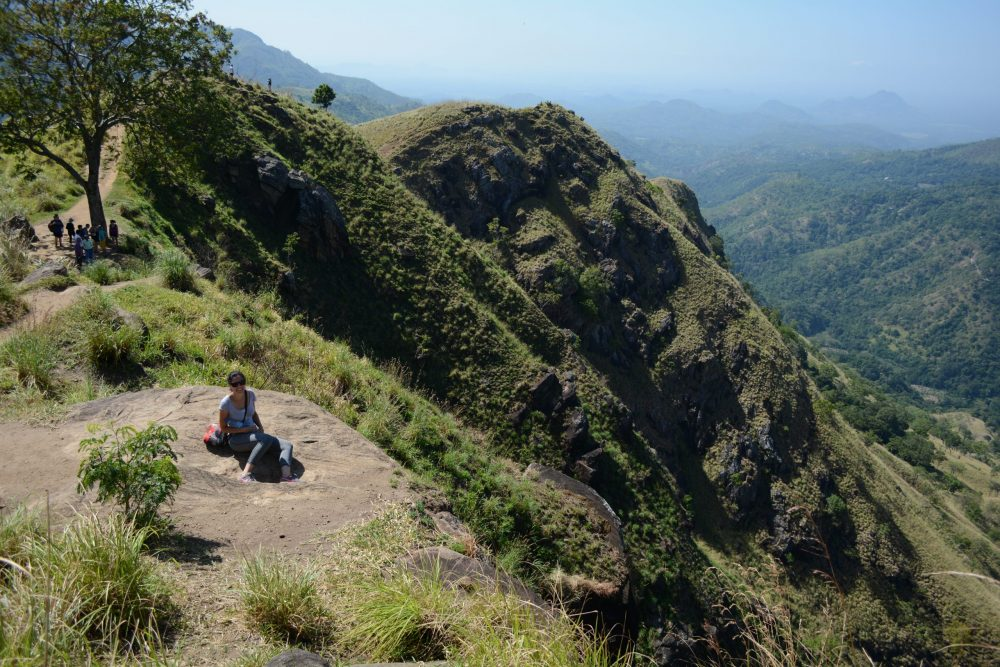 Ella in Sri Lanka, little adam's peak