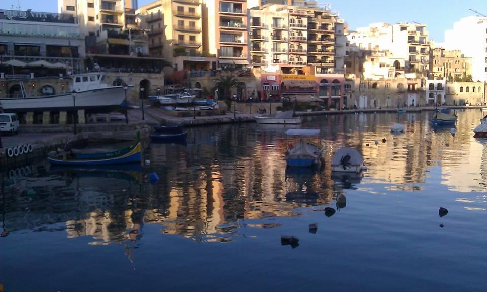 spinola bay- saint julian's