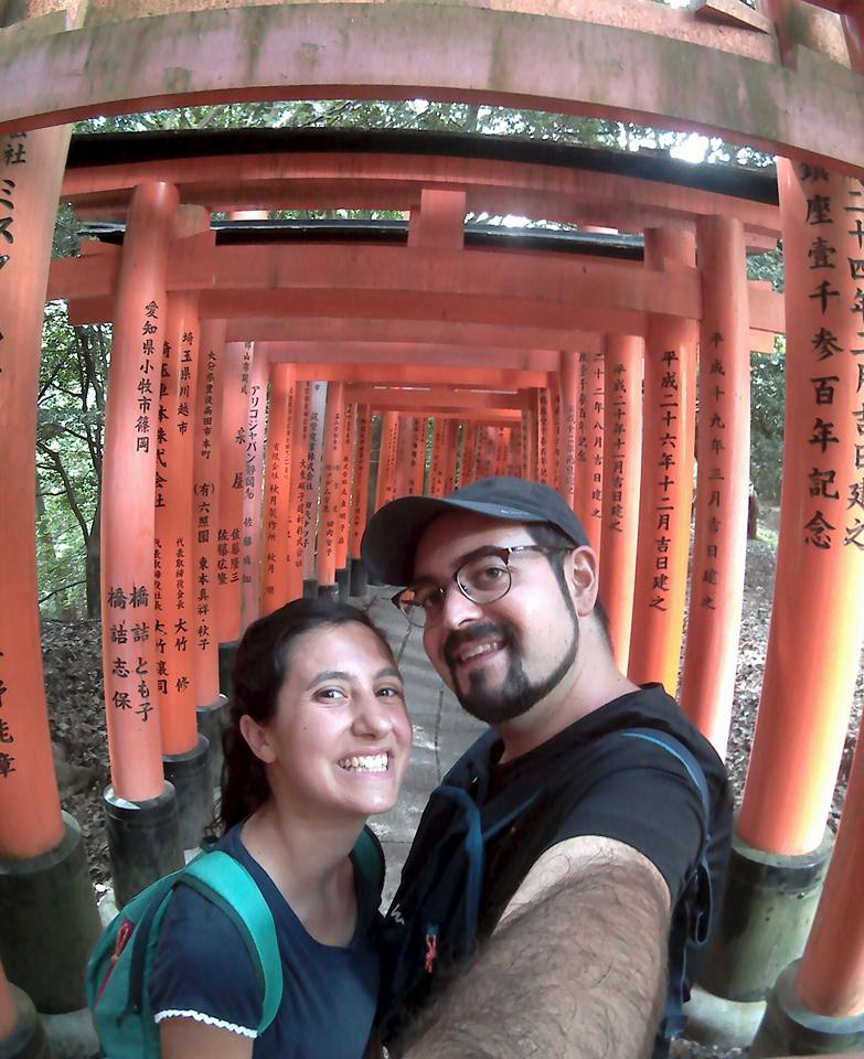 saluti da Fushimi Inari