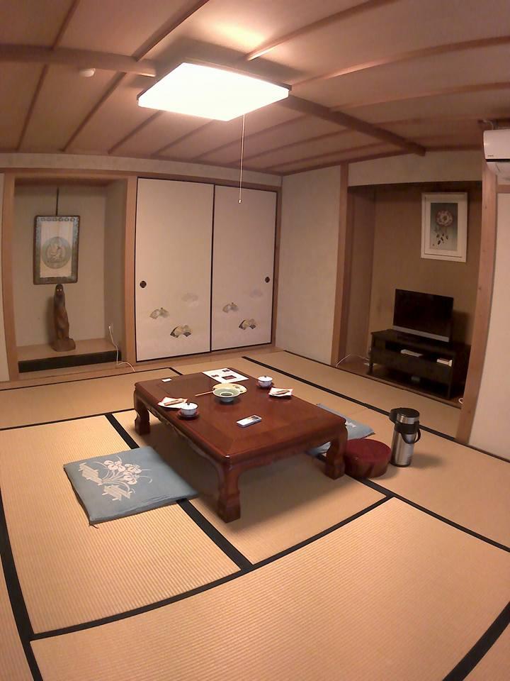 luna di miele in giappone : la stanza del Ryokan