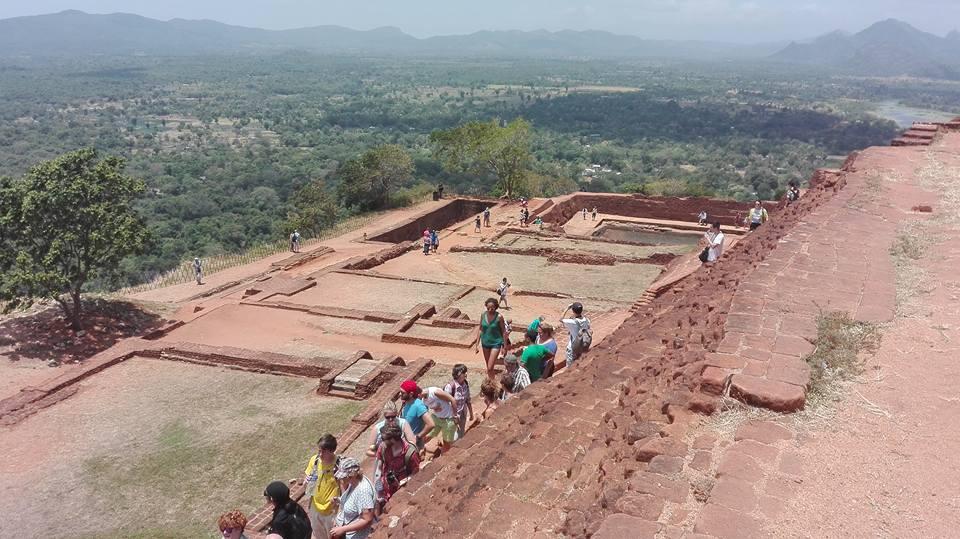 resti del palazzo imperiale, Sigiriya