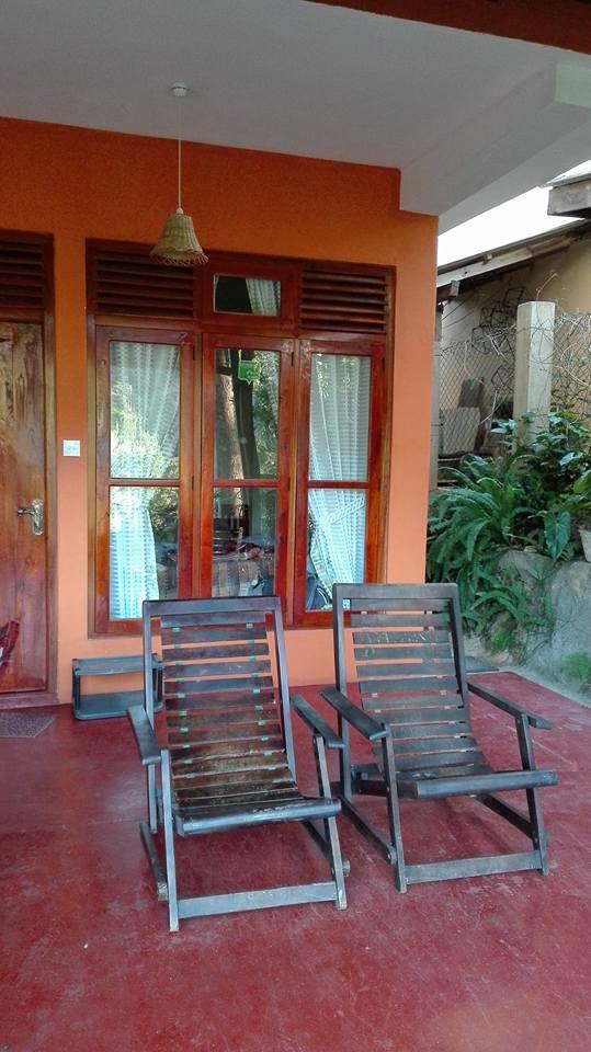 scorcio della nostra camera in Chamodya Homestay Hotel
