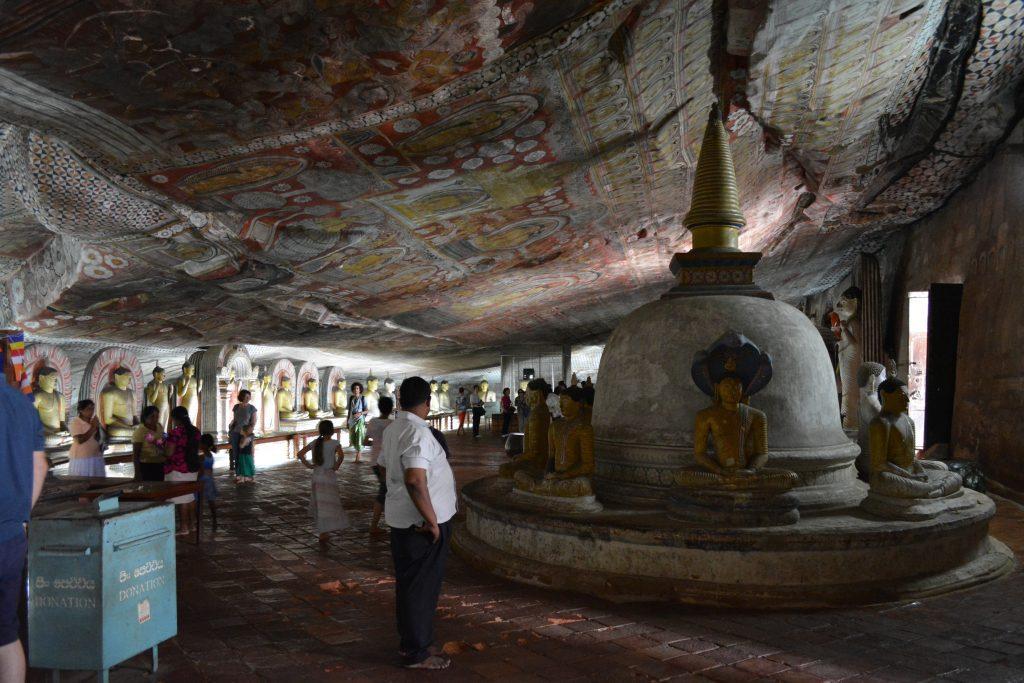 seconda grotta di Dambulla