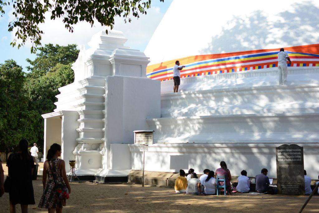 la Dagoba del tempio Kelaniya Raja Maha Vihara