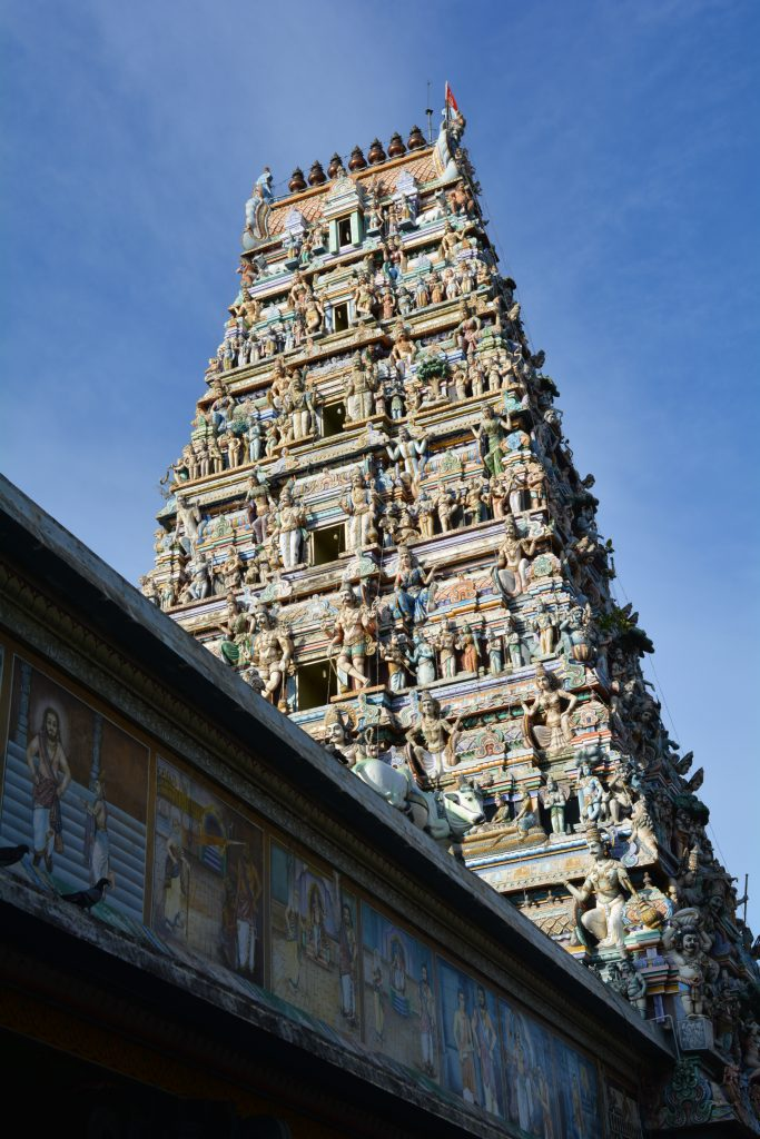 facciata principale del tempio Sri Kailawasanathan Swami Devasthanam