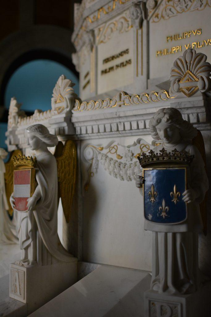 particolare della Cripta di San Lorenzo del Escorial