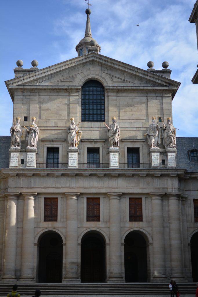 facciata principale della basilica di San Lorenzo del Escorial