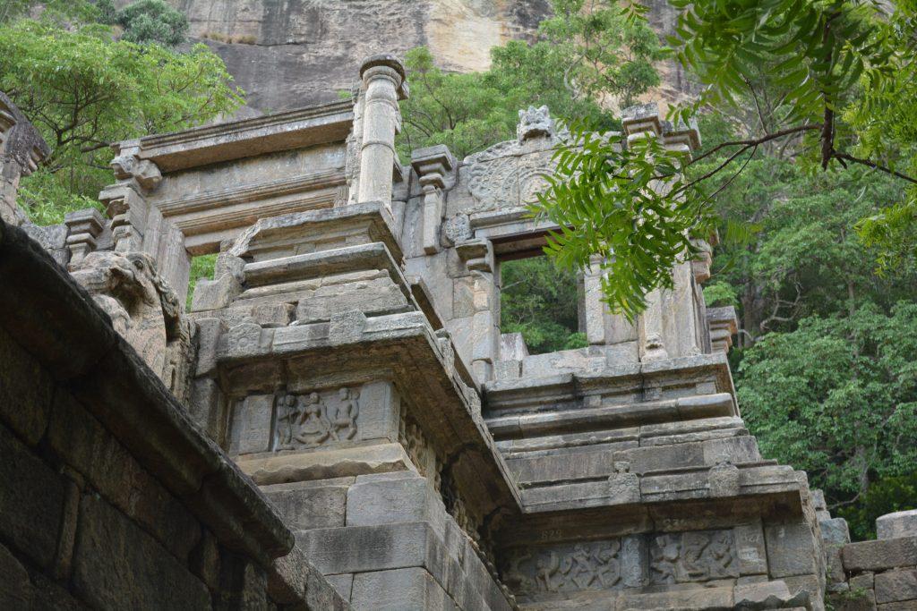 Yapahuwa, particolare della porta d'ingresso alla città