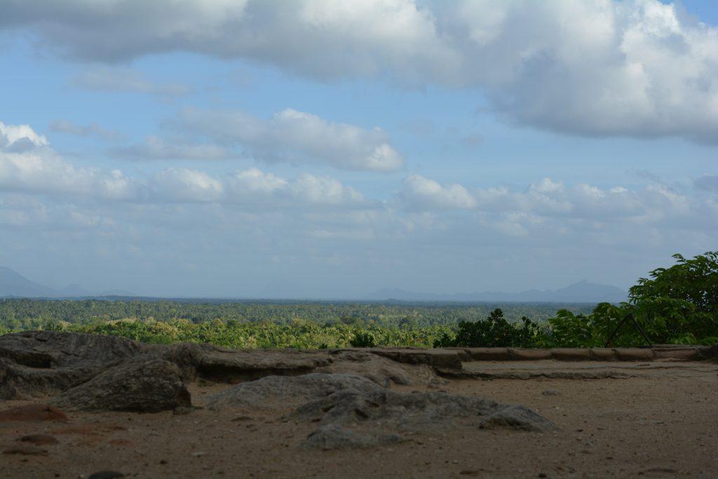 vista dall'alto, Yapahuwa