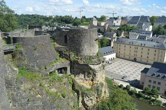 cosa vedere in Lussemburgo : casematte del Bock , il tunnel.