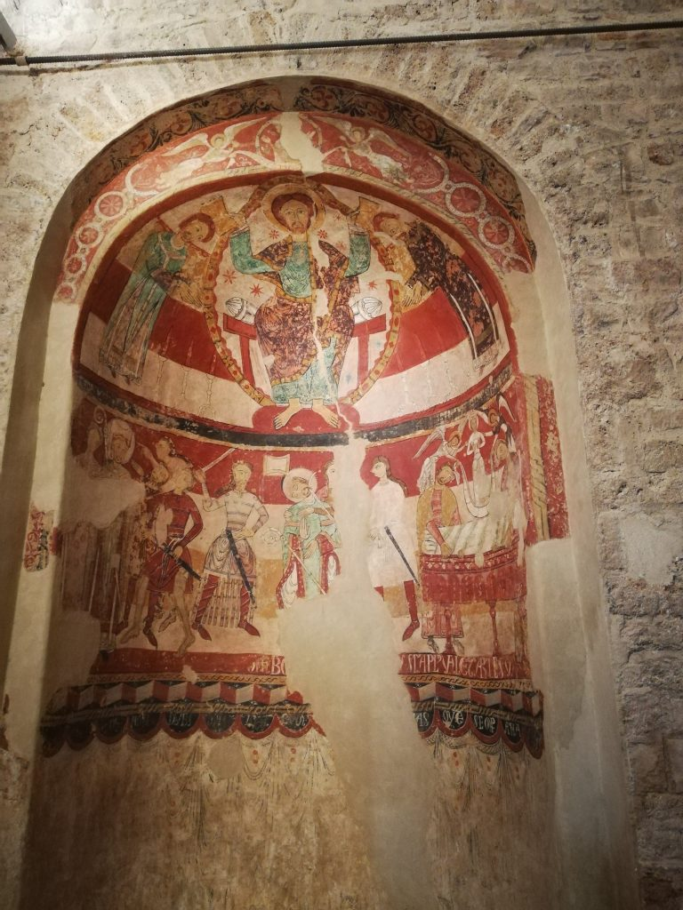 chiesa di Santa Maria all'interno della Seu d'Egara