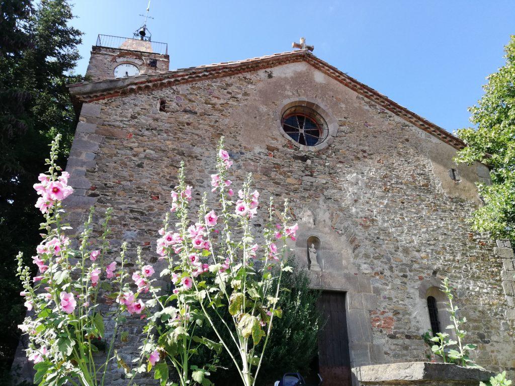 Pirenei catalani : chiesa di San Martì a Campelles.