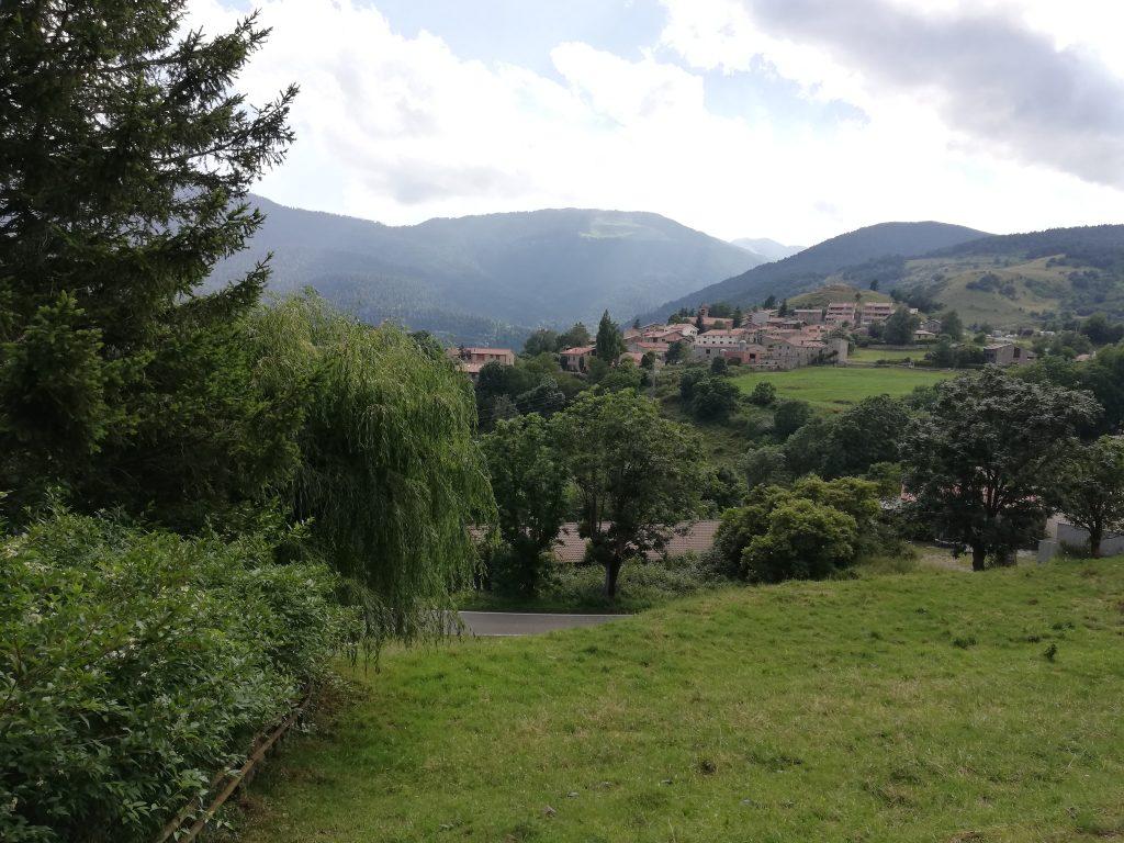 vista di Campelles nei Pirenei Catalani.