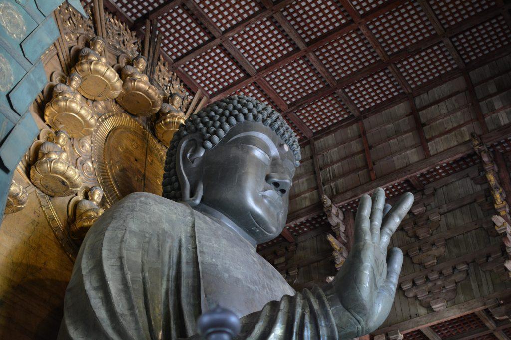 Daibutsu Buddha di Nara, tempio Todai-ji
