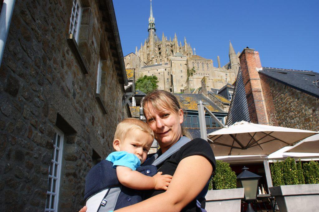 Mont Sant Michel con bimbi
