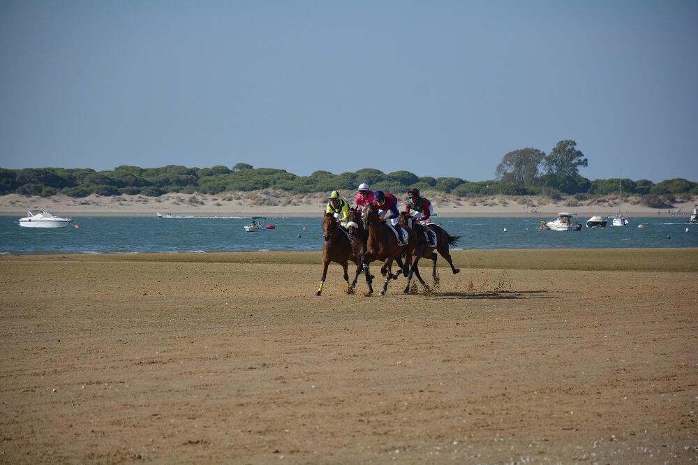 corsa dei cavalli a Sanlúcar de Barrameda