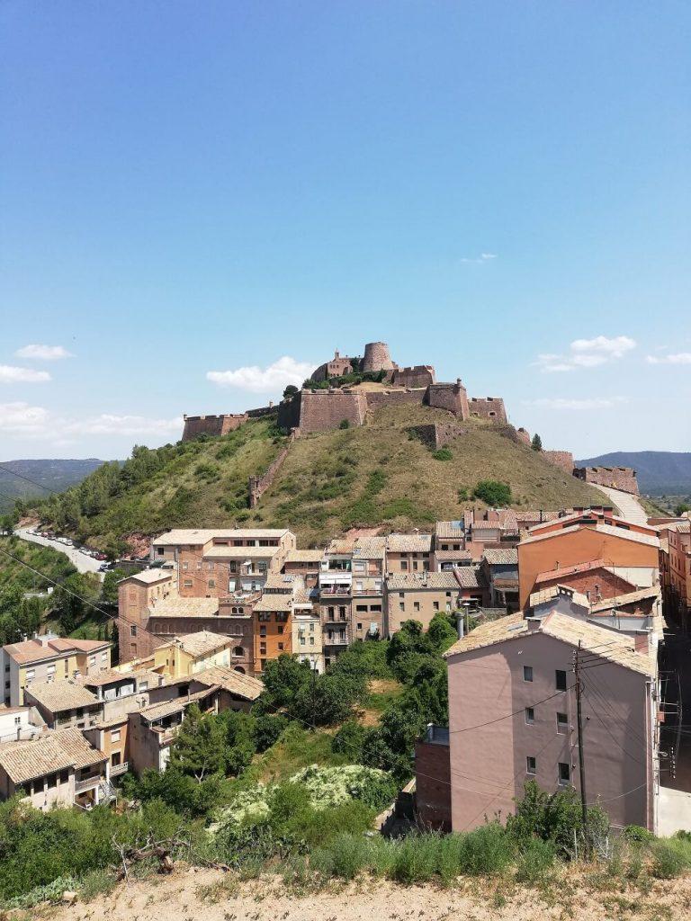 vista del castello dall'alto