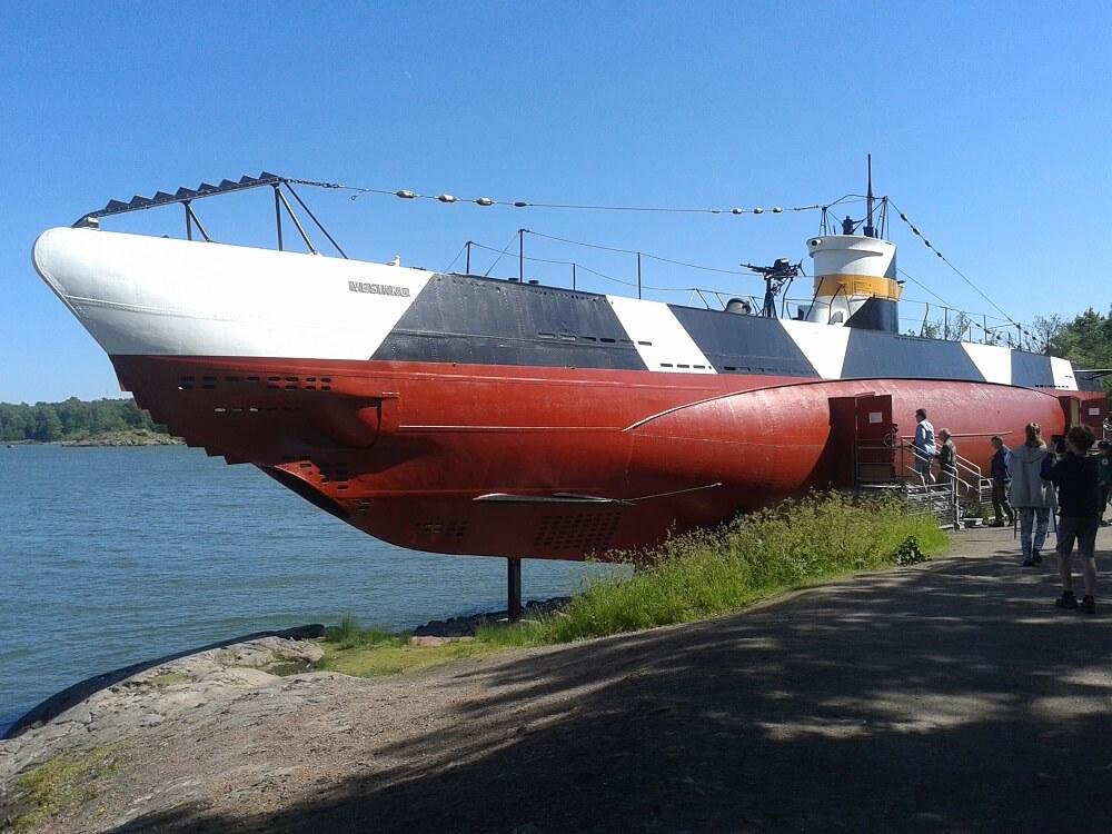 sottomarino Vesikko a Suomenlinna